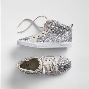 Gap glitter hi top sneakers